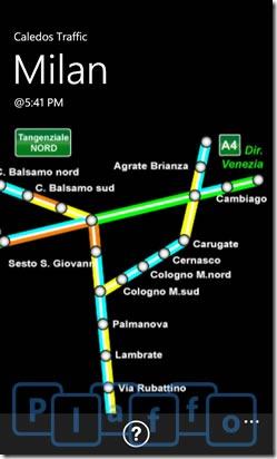 caledos traffic italia1
