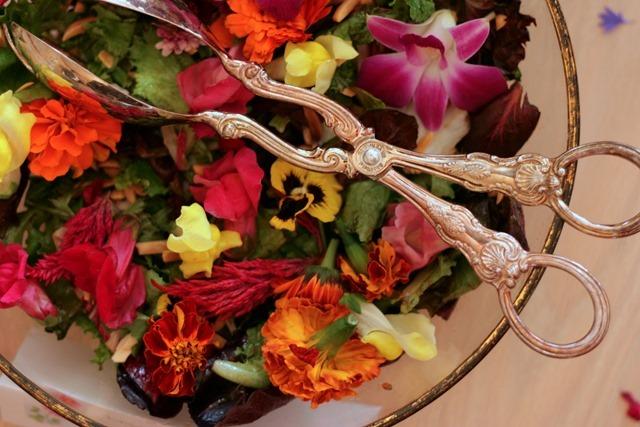 Wild Flower Salad