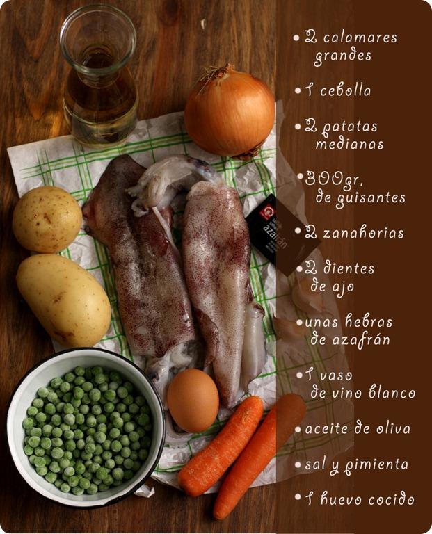 guiso-de-calamares-ingredientes