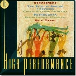 Stravinsky Consagracion Ozawa
