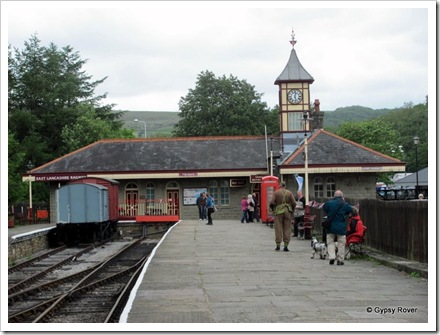 Rawtenstall station. The end of the line.