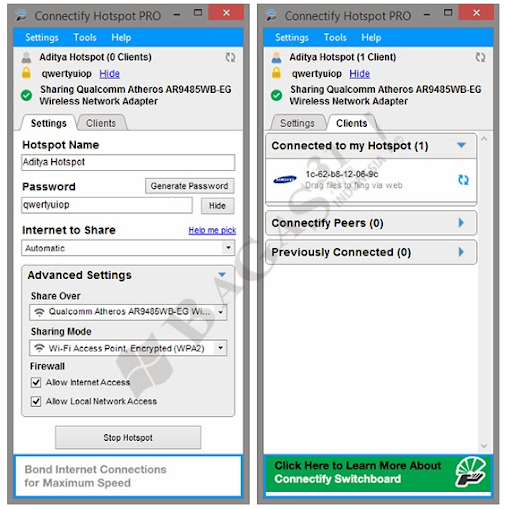 Connectify hotspot pro free download for windows 8 1 with crack