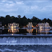 Twilight on Boathouse Row