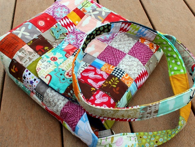 Charming Chunky Wee Bag for Project Quilting