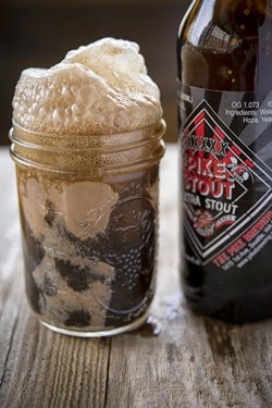 Beer Float Pike Stout, courtesy Centerplate