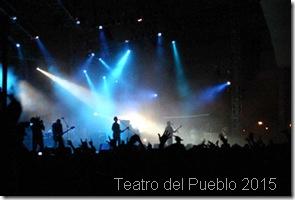 Cartelera de teatro del Pueblo en Texcoco 2015