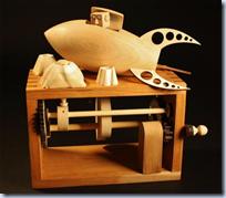 Wooden Robot Automata