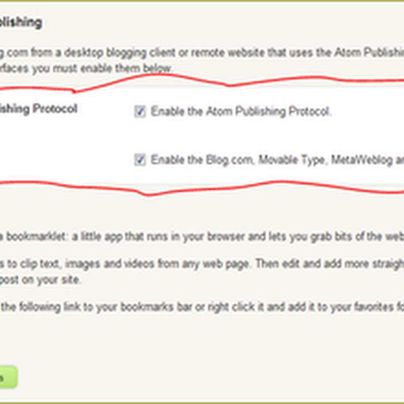 ตั้งค่า wordpress ให้สามารถใช้ windowslive writer เขียนบทความ