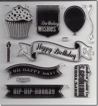 Artiste_birthday stamp set