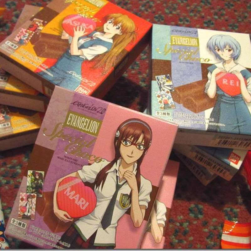 Evangelion 2.0 Valentines Chocolate Giveaway