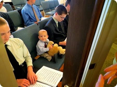 Nehemiah in Choir Practice