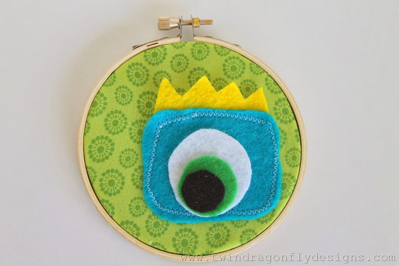 Monster Embroidery Hoop (16)