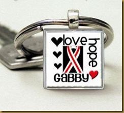 gabby keychain