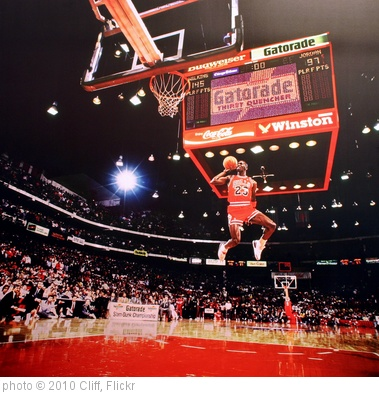 'Michael Jordan, Slamdunk Contest, Chicago, IL - 1988' photo (c) 2010, Cliff - license: http://creativecommons.org/licenses/by/2.0/