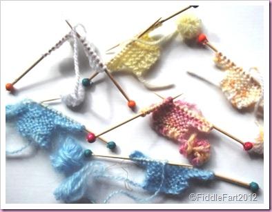 Knitting baby Card