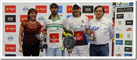 Lima-Mieres Campeones en el Ciudad de Santa Lucía International Open WPT 2013.
