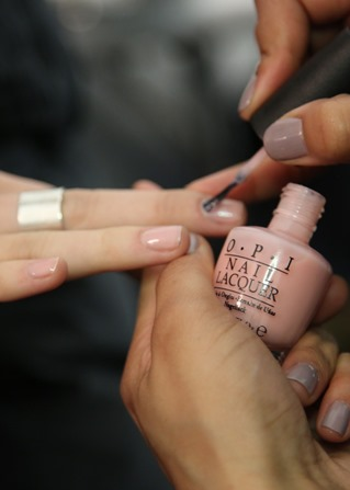 OPI Passion at BCBGMAXAZRIA Fall/Winter 2014 #OPINYFW