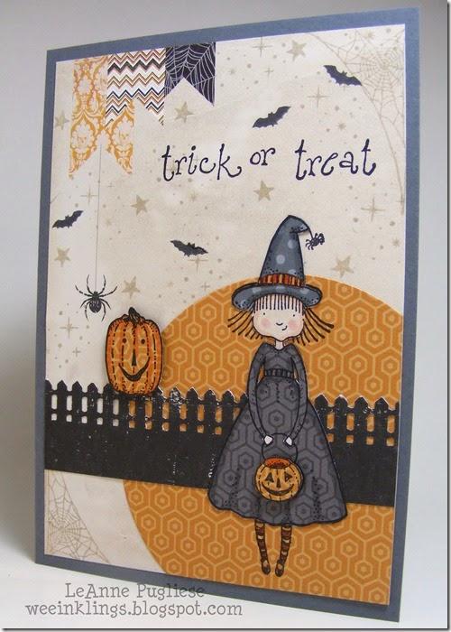 LeAnne Pugliese WeeInklings Paper Players 216 Halloween Fun