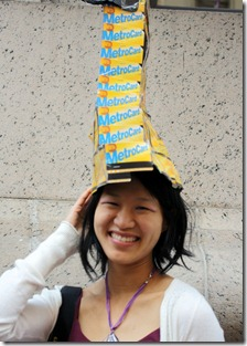 metro-card-hat-nyc-easter-parade-2012