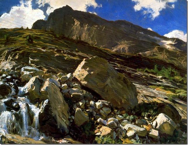 John-Singer-Sargent Simplon Pass