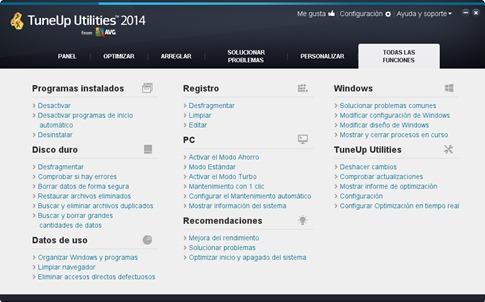 Nueva versión de TuneUP Utilities 2014