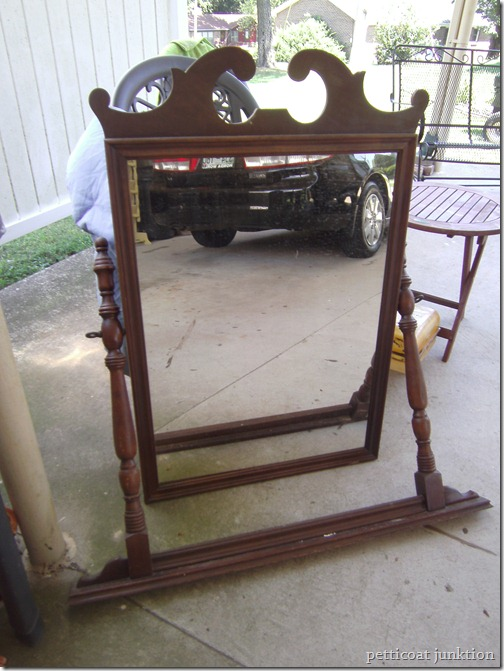 mirror how to antique furniture project