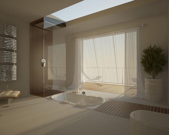 Modelos de baños de lujo