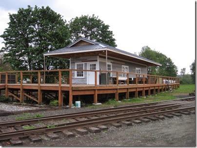IMG_6460 Centralia-Chehalis Railroad Association Chehalis Depot on May 12, 2007