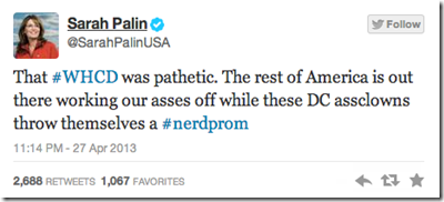 Palin Tweet Screen-Shot-2013-04-28-at-10_20_40-AM