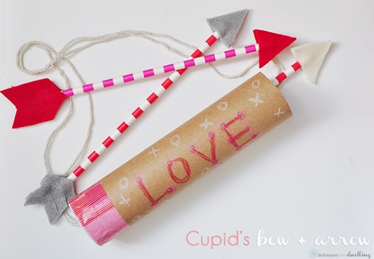 Cupids Bow and Arrow Craft