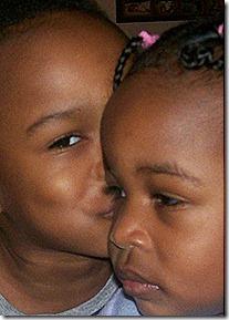 Andre kissin' Amareah
