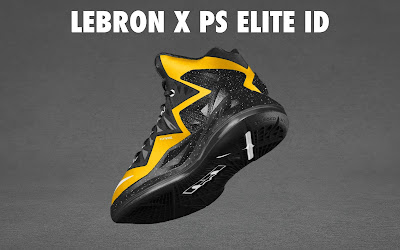 nike lebron 10 ps elite id options preview 1 16 NIKE LEBRON X PS ELITE Coming to Nike iD on April 23rd