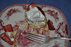 Strawberry shortcake remnants-- this recipe is from my favorite baking book, Joanne Chang's