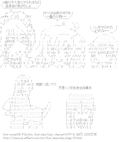 [AA]会長四天王 「シノがやられたようだな・・・」