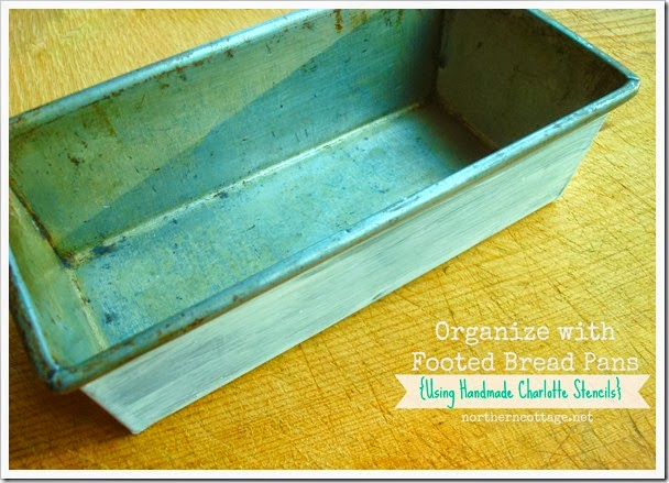 {Northern Cottage} bread pan diy storage idea