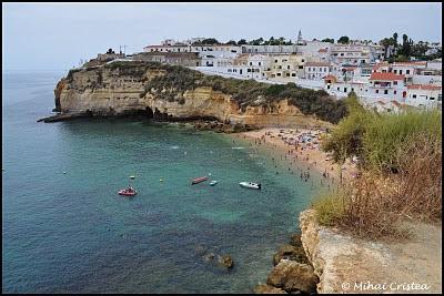 Plaja Portugalia: Carvoeiro