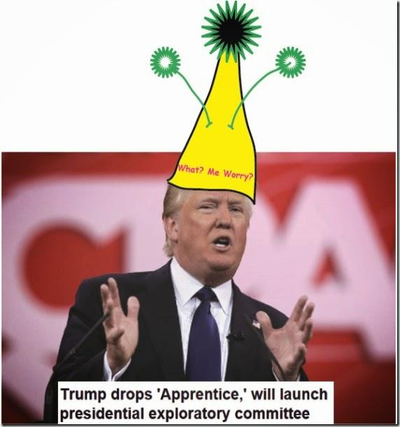 the clown trumpl