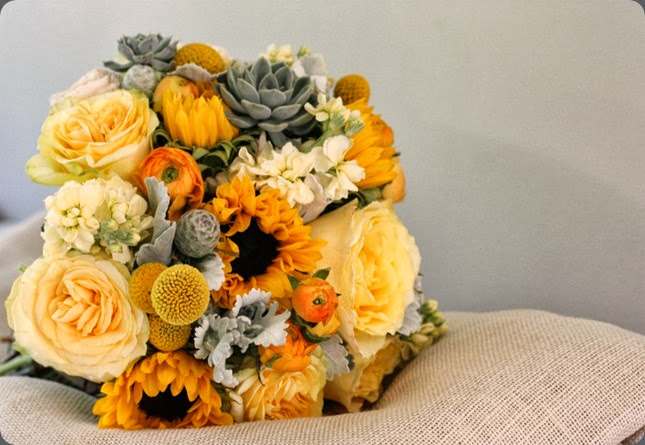 sunflowers bridal-bouquet-2-1024x682 blush floral design