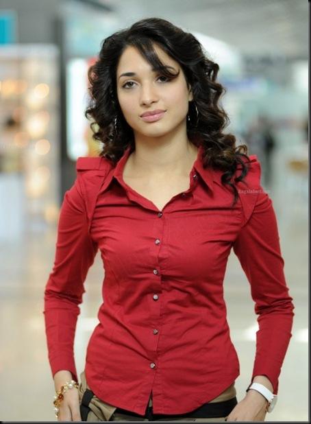 tamanna-bhatia-hot-in-red-shirt-wallpaper