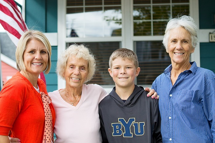 4 Generation Photo in Poulsbo Washinton