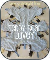 button teddy bear lovey