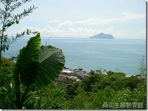 山上的石空與海邊的外澳遙遙對望