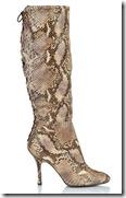 LK Bennett Snake Print Boot