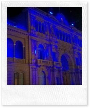 Casa Rosada Azul