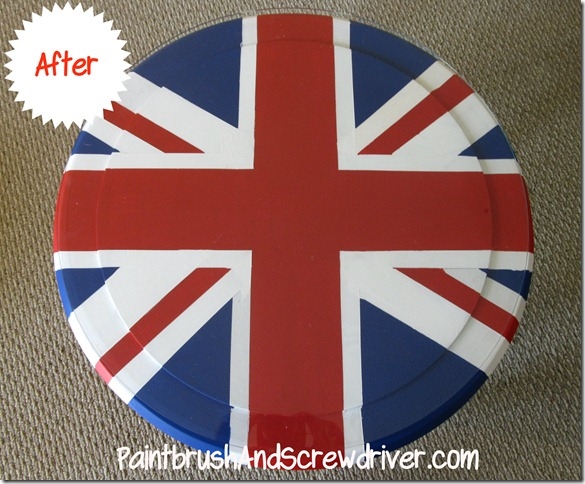 Union Jack Round Table After