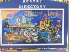 Florida 2013 Universal park directory