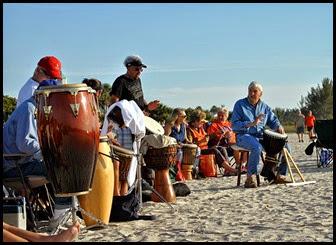 01 - Venice Drum Circle - Drummers