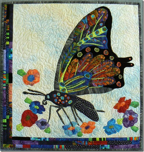 Feathered Butterfly Wing by Wendy Butler Berns