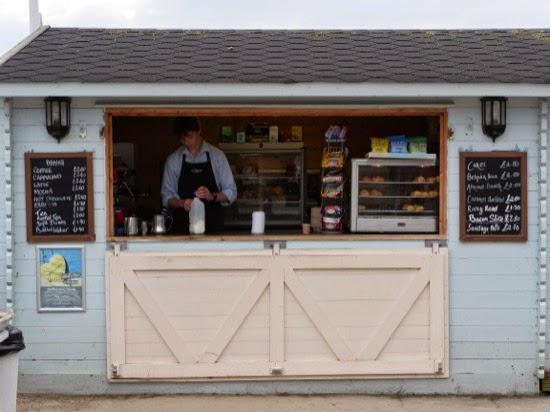 Cafe on the beach...