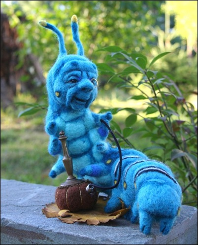 The Blue Caterpillar